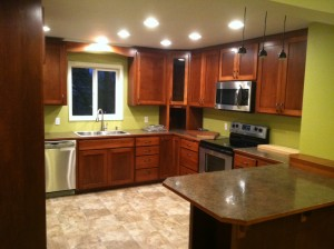 Kitchen remodel Springfield, OR